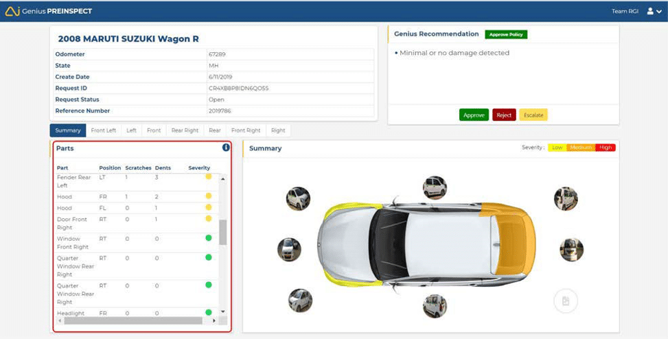 preinspect image 3 - GeniusPREINSPECT Solution: Taking Automation To The Next Level