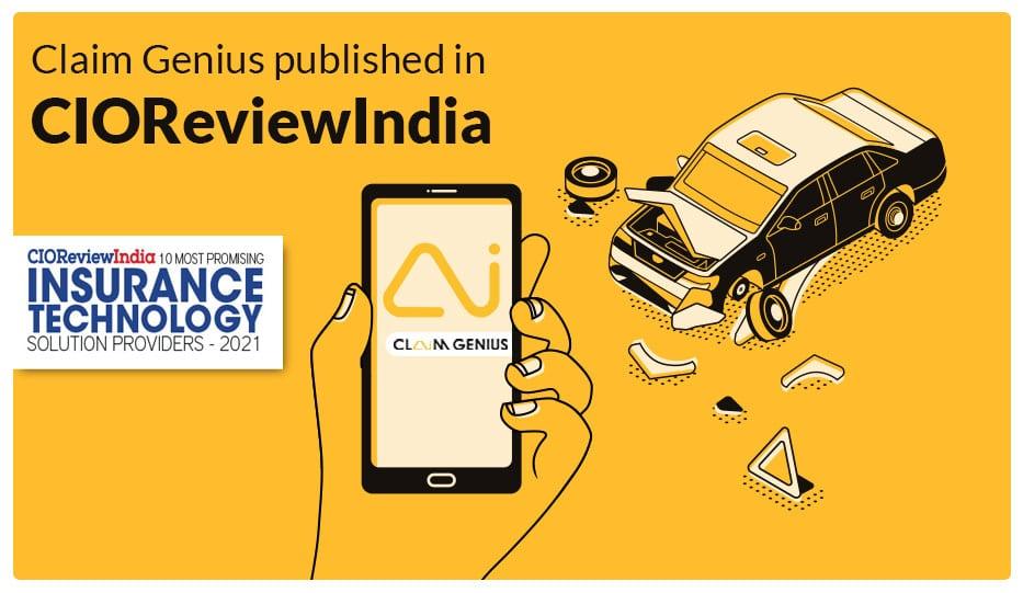 Claim Genius Published In CIOReviewIndia